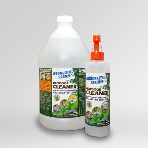 Absolutely Clean® Outdoor Cleaner bottles.