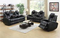 Delange Power Reclining Sofa  LED-USB-AND MORE! Add Love Seat and Chair too!