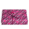 CRACKLE WRAP: PINK/PURPLE- MEDIUM (48CM X 48CM SHEET) Medium Crackle fabric wrap in Pink/Purple. Shown wrapping example gift.