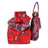 Crackle Pack includes a large, medium & small sheet of fabric gift wrap in our contemporary Wrag Wrap Christmas colours, plus a Bottle Bag. Please choose the design and colour combination by clicking on the options below: