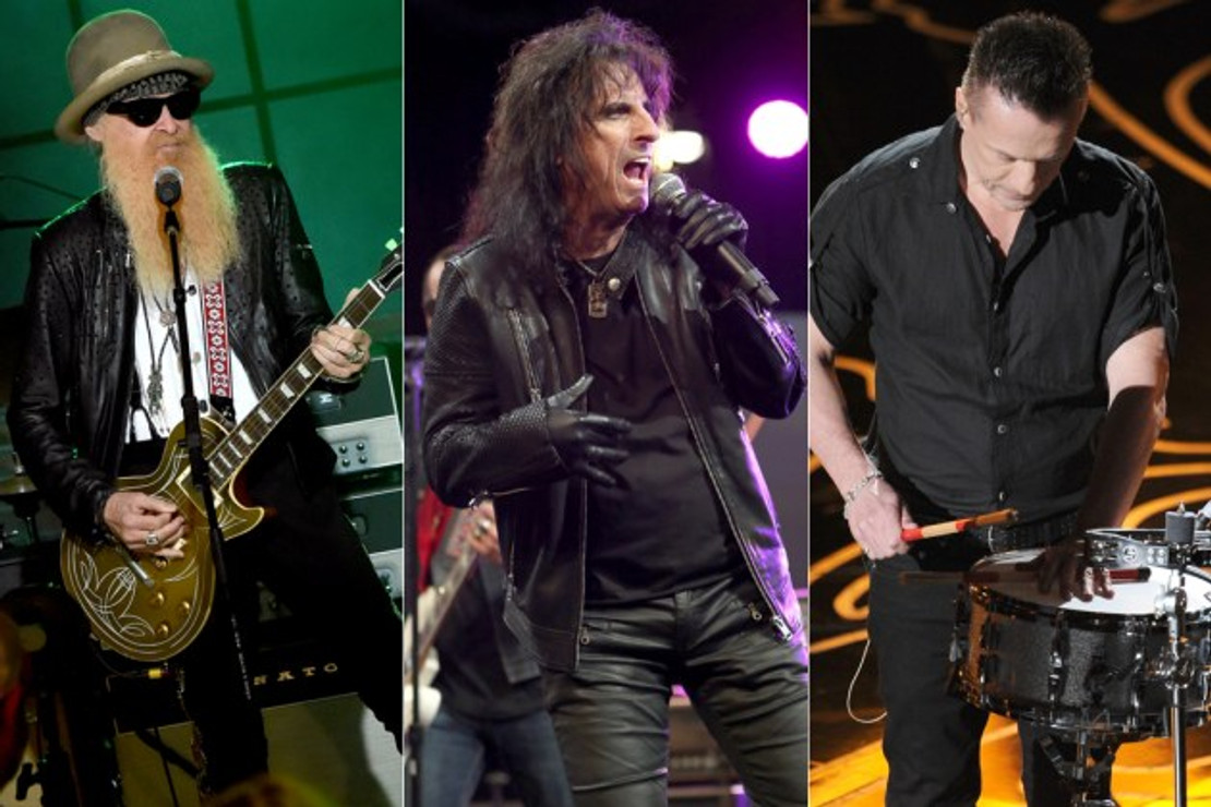 Alice Cooper's New Album to Feature ZZ Top and U2 Band Members