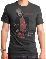 Tom Petty and the Heartbreakers Damn the Torpedoes Album Cover Artwork Men's Gray Vintage T-shirt
