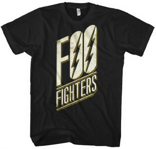 Foo Fighters Logo Men's Black T-shirt