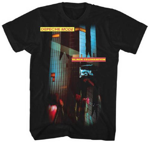 Depeche Mode T-shirt - Black Celebration Album Cover Artwork