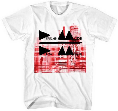 Depeche Mode Men's T-shirt - Delta Machine Album Cover Artwork | White Shirt