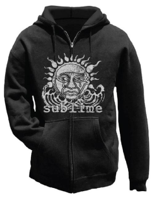 Sublime Hoodie - 40 Oz to Freedom Album Cover Artwork | Black Hooded Sweatshirt