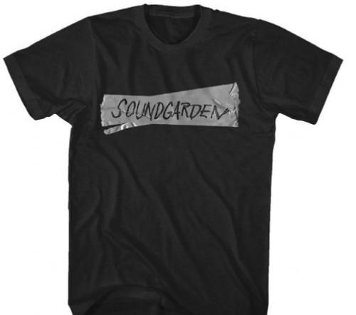 Soundgarden T-shirt - Soundgarden Logo | Men's Black Shirt