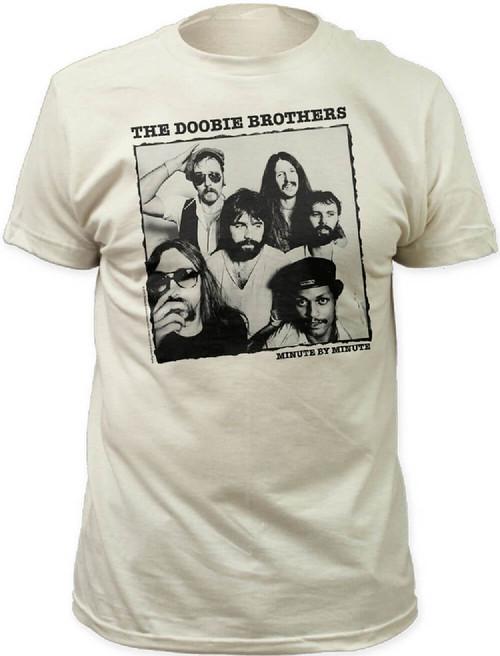 Doobie Brothers Album T-shirt - The Doobie Brothers Minute by Minute Album Cover Artwork