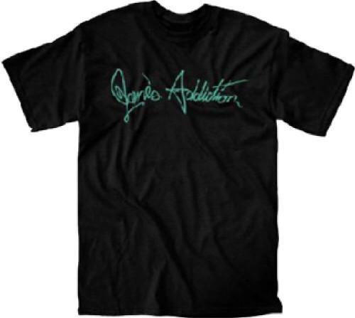Jane's Addiction T-shirt - Jane's Addiction Logo | Men's Black Shirt