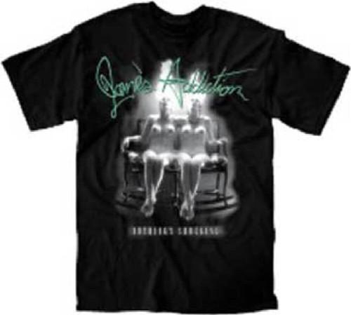 Jane's Addiction Album T-shirt - Jane's Addiction Nothing's Shocking Album Cover Artwork | Men's Black Shirt