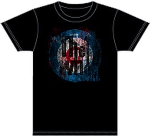 The Who Men's Vintage T-shirt - The Who Target Logo | Black