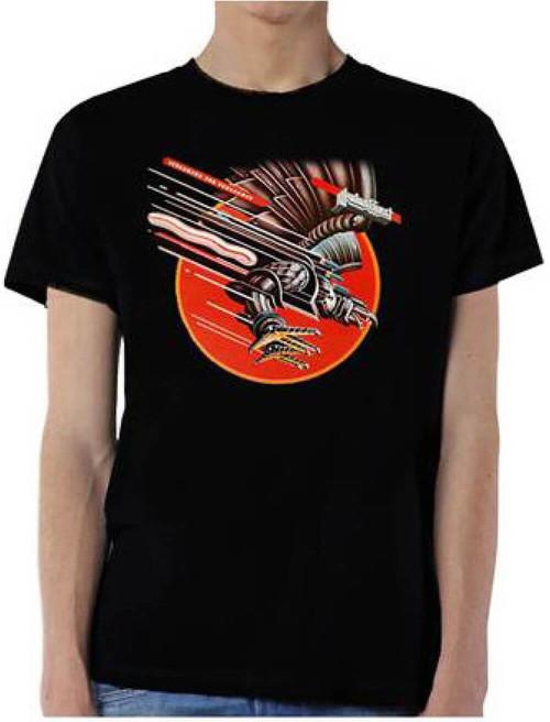 Judas Priest T-shirt - Screaming for Vengeance Album Cover Artwork   Men's Black Shirt