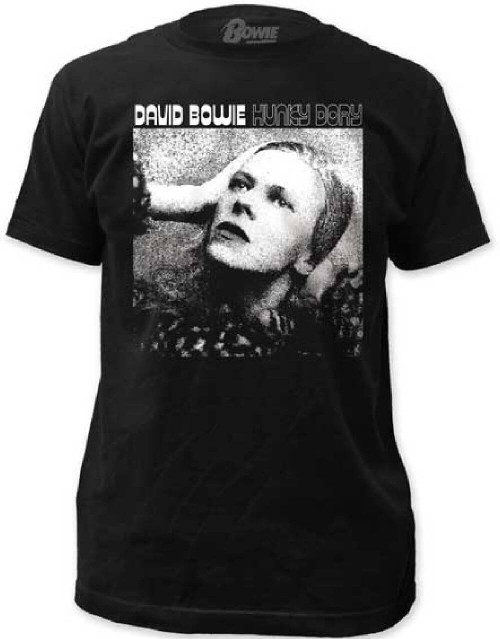 David Bowie T-shirt - Hunky Dory Album Cover Artwork | Men's Black Shirt