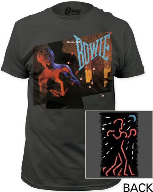 David Bowie Vintage T-shirt - David Bowie Let's Dance Album Cover Artwork | Men'