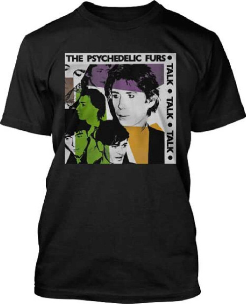 The Psychedelic Furs Talk Talk Talk Album Cover Artwork Men's Black T-shirt