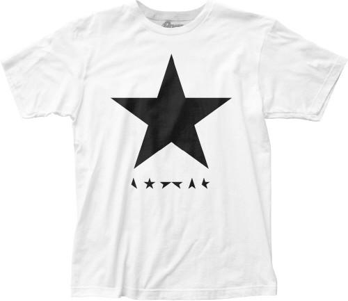 David Bowie T-shirt - David Bowie Blackstar Album Cover Artwork | Men's White Shirt