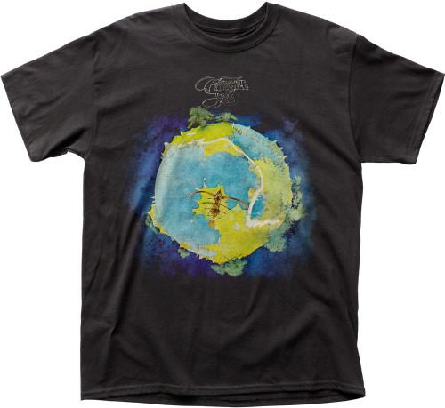 Yes T-shirt - Yes Fragile Album Cover Artwork. Men's Black Shirt