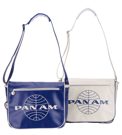 Pan Am Originals Luggage - Messenger Travel Bag. With Pan Am Airlines Classic Logo