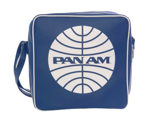 Pan Am Originals Luggage - Defiance Travel Bag. With Pan Am Airlines Classic Logo
