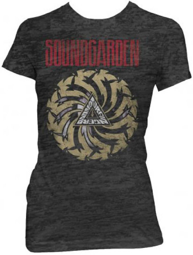 Soundgarden badmotorfinger album cover artwork women s vintage t shirt for The garden band merch