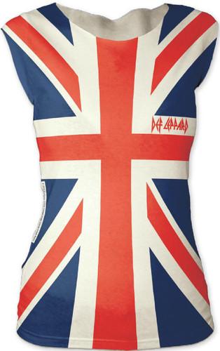 Def Leppard Womens Shirts