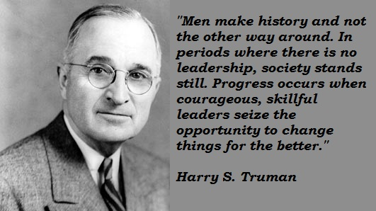 Image result for truman quotes