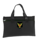 Tote Bag Scottish Rite Wings Up 32nd Degree - Black Masonic Tote bag for Freemasons - Classic Double Headed Eagle