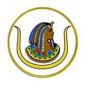 D.O.I - Masonic Adhesive Car Decal - Masonic Car Emblem - colorful logo with white background for Freemasons - Daughters of Isis Egyptian Mythology Masonic Merchandise.