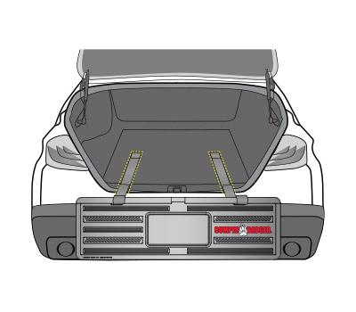 BumperBadger Retro Install 1