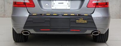 Eurobumperguard Factory Direct Bumper Protection Rear