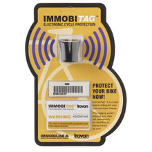 Reseller box of retail (euro hanger) packaged ImmobiTAGs for Solid Frame Bikes