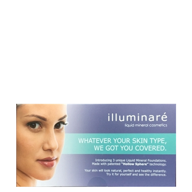 Illuminare Deluxe Foundation Sample Pack