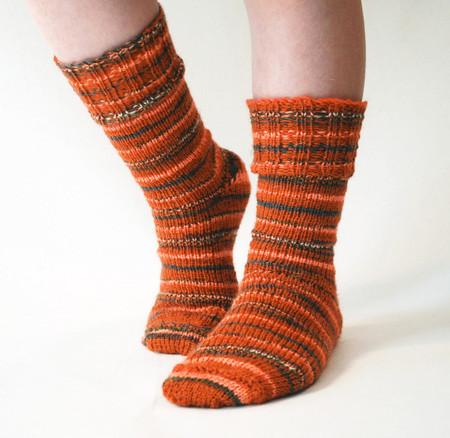Ribbed Cuff Socks Httpknittingboard