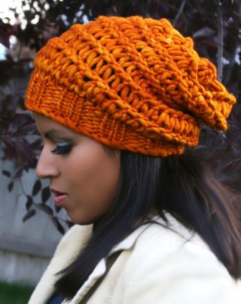 Autumn Slouchy Hat Http Www Knittingboard Com