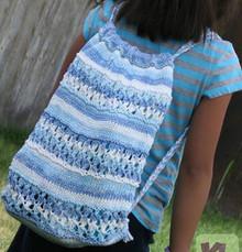 Beach Drawstring Backpack