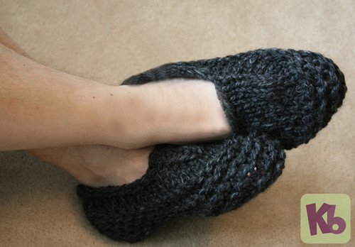 Mens Slippers Http Www Knittingboard Com