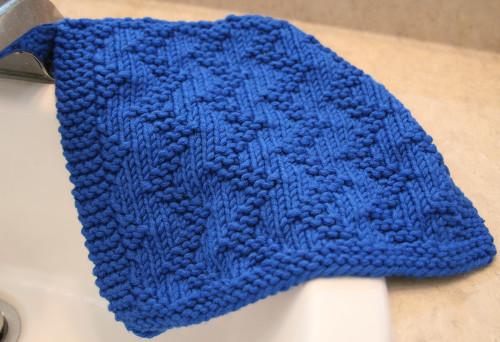 Zig Zag Dishcloth Http Www Knittingboard Com