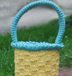 Easter Basket Http Www Knittingboard Com