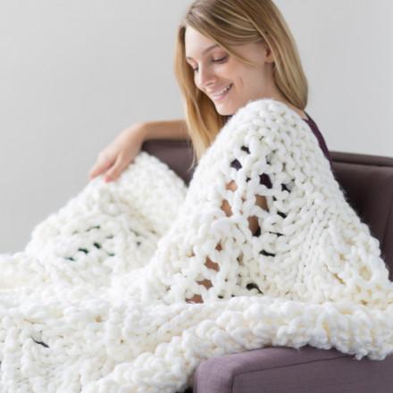 White Pines Blanket Httpknittingboard