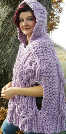 Fairhaven Poncho Http Www Knittingboard Com