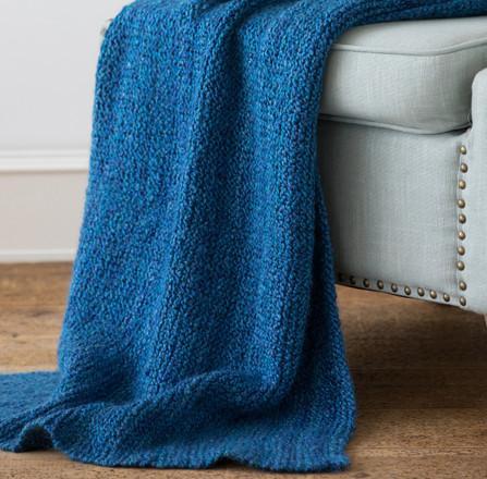 Easy Knit Blanket Http Www Knittingboard Com