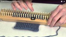 Double Knit vs. Single Knit