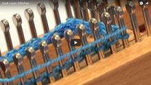 Sock Loom - Stitches