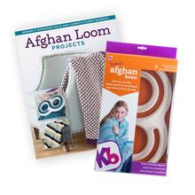 Afghan Loom with pattern book