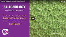 Twisted Trellis Stitch