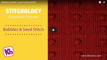 Bobbles & Seeds Stitch