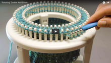 Rotating Double Knit Loom
