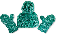 Frosted Ridge Mittens/Hat Set