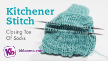 Removing Stitches and Kitchener Toe Closure