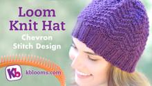 Complete Hat Pattern- Chevron Design